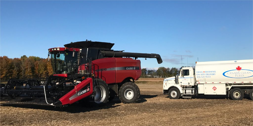 Delivering fuel to agriculture equipment